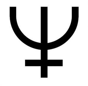 symbol Neptuna astrologia horoskop