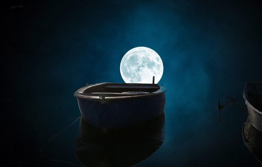 Pusty bieg Księżyca 2020 rok