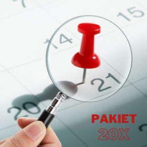 pakiet xxl - wyznaczenie korzystnych dat astrologicznie